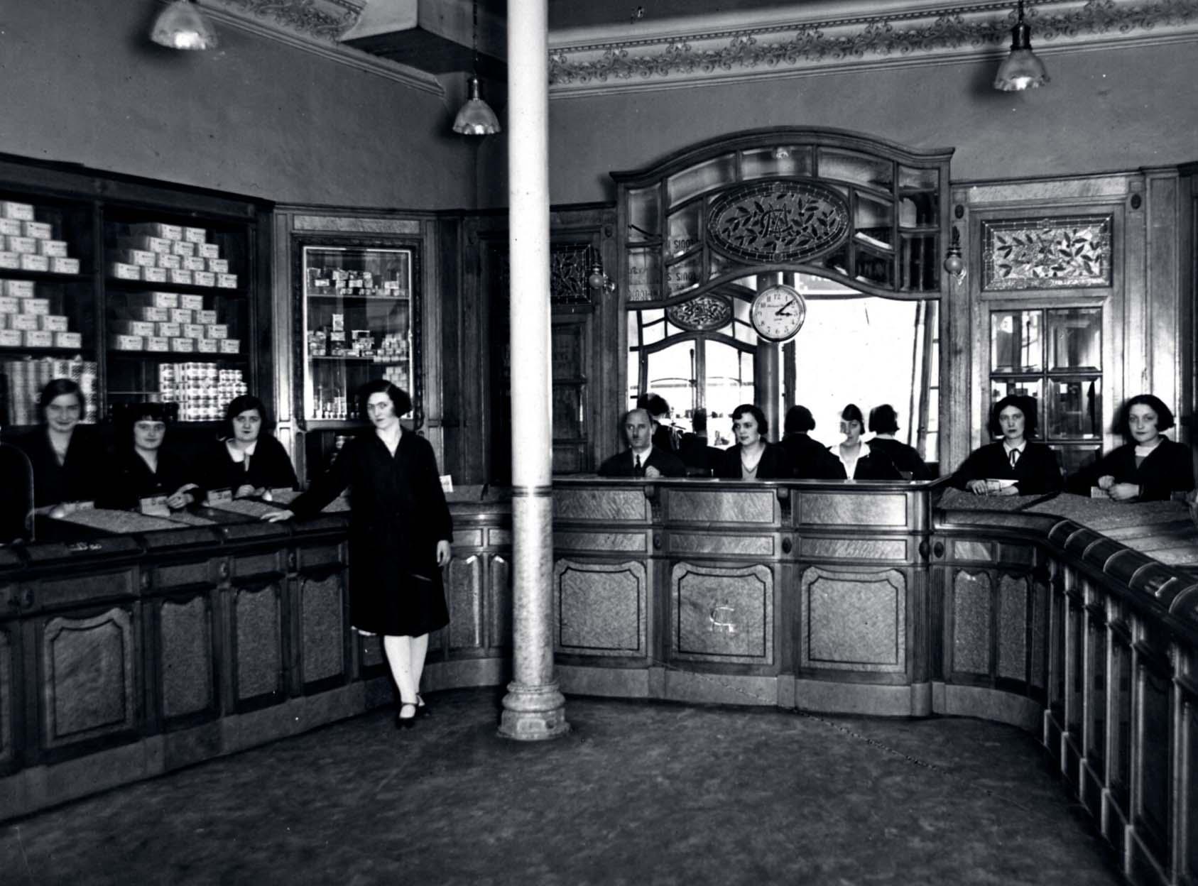 magasin des Cafés Maurice Toulon