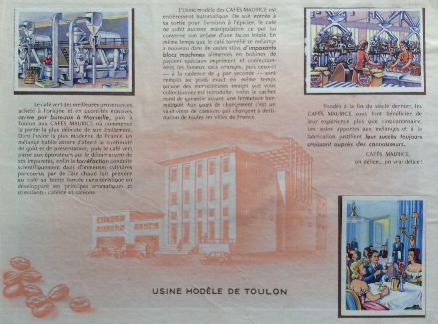 Parutions jeunesses histoire de France annonces Cafés Maurice