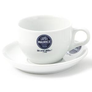 Tasses sous-tasses Latte Barista 24 cl