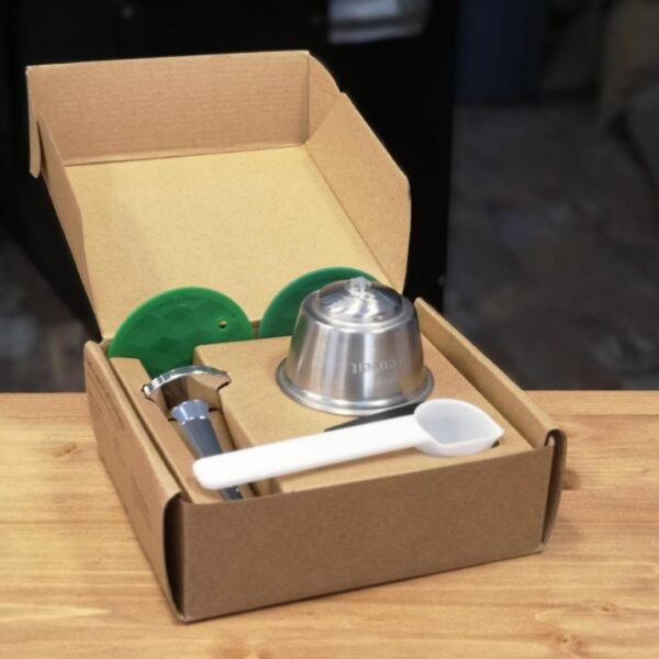 Dolce Gusto boîte 1 capsule tasseur doseur pinceau Cafés Maurice