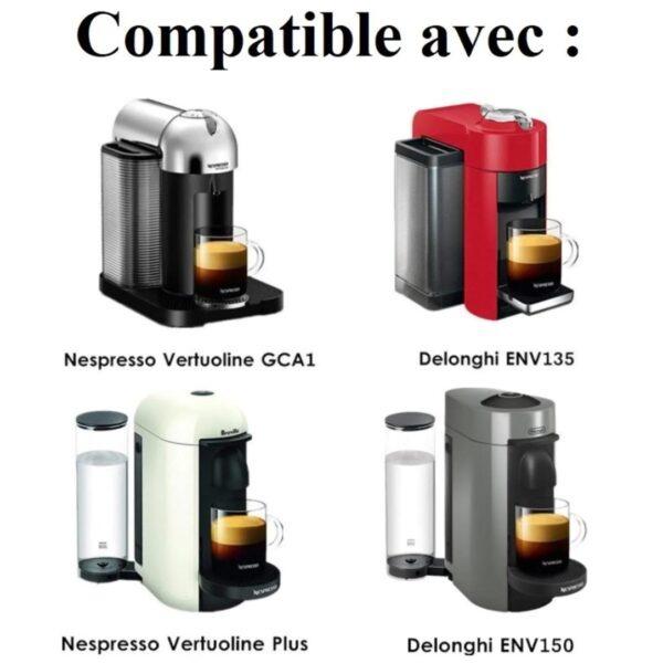 Vertuo 1 capsule tasseur Cafés Maurice