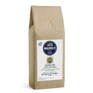 Café Greengo bio Rwanda issu de l'agriculture biologique 100 % arabica Cafés Maurice